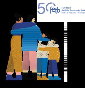 logo grafico 50 años FETB
